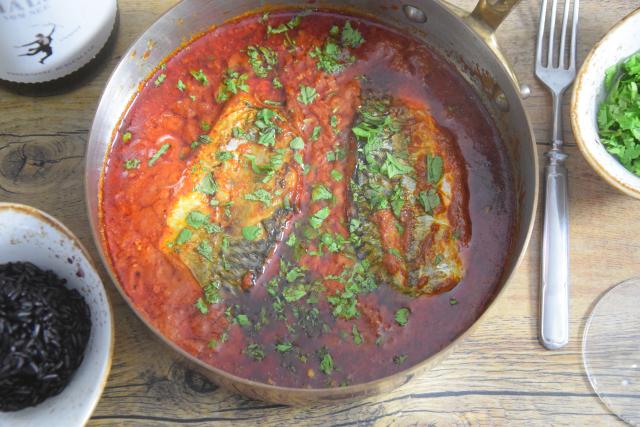 Makrele in Chraimeh-Sauce (3)