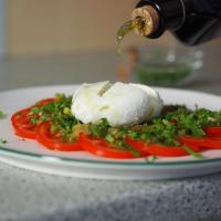 Tomaten, Frühlingszwiebel, Ingwer