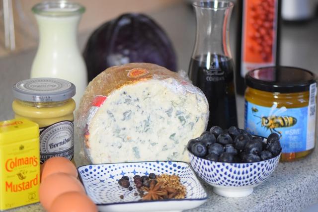 Blauschimmelkäsekuchen Fourme d'Ambert (1)