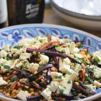 Gelber-Erbsen-Salat