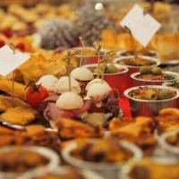 Ein Weihnachtsbuffet