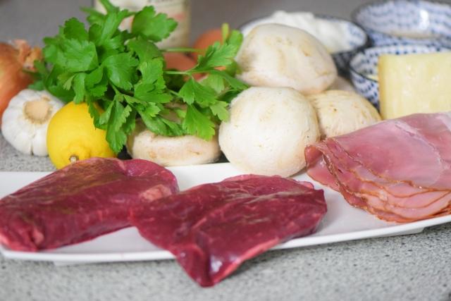 Gefüllte Champignons mit Steak (1)