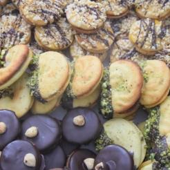 Ischler Bäckerei, Pistaziengebäck, Schokogebäck