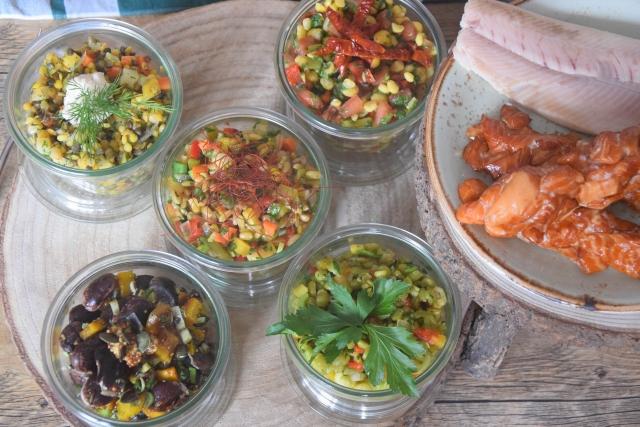 fünf kleine salate zum mitnehmen (3)