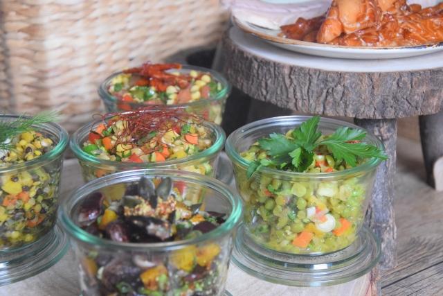fünf kleine salate zum mitnehmen (4)