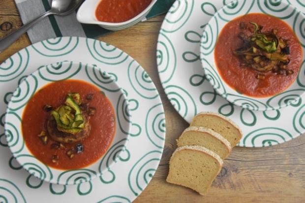 hühnerfaschiertes mit zucchini und melanzani (2)