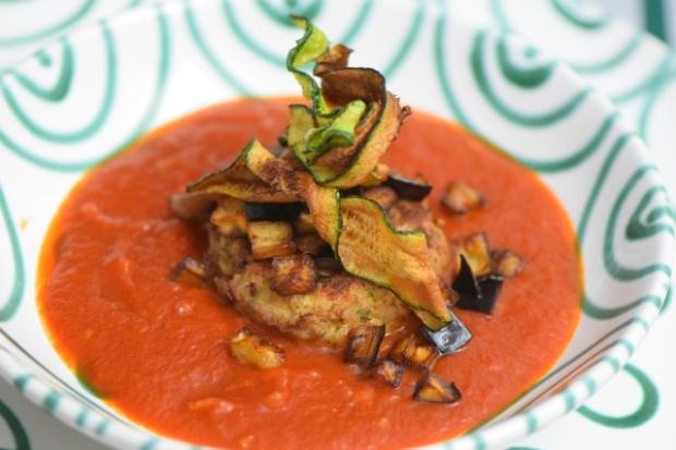 hühnerfaschiertes mit zucchini und melanzani (4)