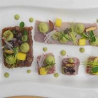 Rohe Thunfisch-Variationen