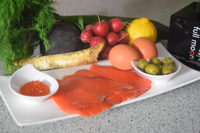 Rettichsalat mit Lachs (1)