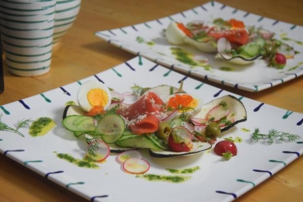 Rettichsalat mit Lachs (3)