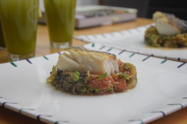 Skrei auf Quinoa-Grapefruit-Puffer (6)