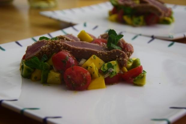 Thunfisch in der Sesamkruste (4)