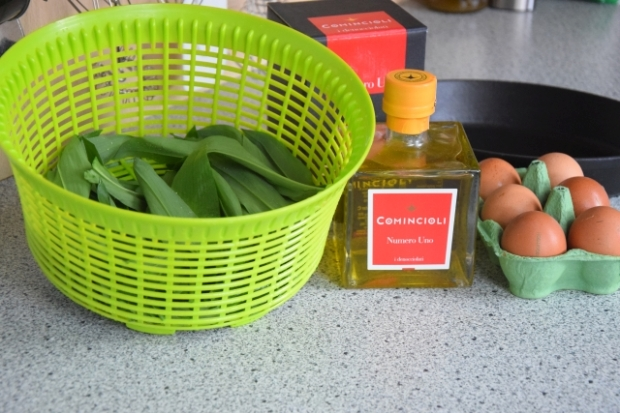 Omelett mit Veronelli-Olivenöl (1)