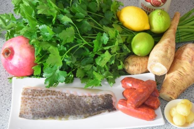 Skrei und Chorizo (1)