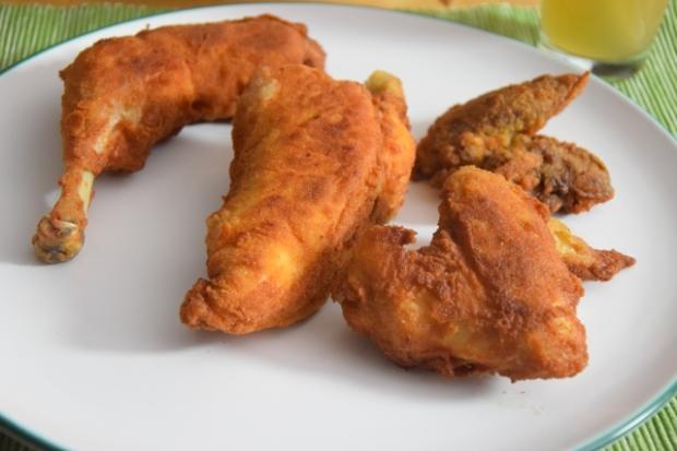 Wiener Backhendl mit Erdäpfl-Vogerlsalat (2)