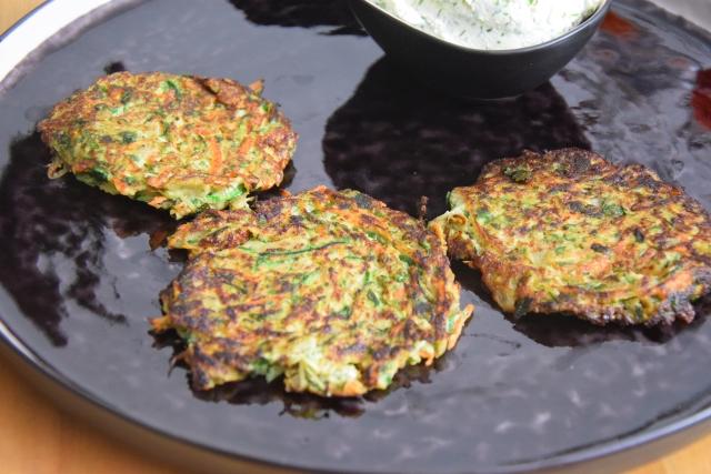 Zucchini-Fenchel-Puffer (3)