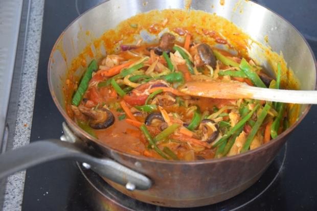 Das Erkältungs-Curry-Huhn (2)