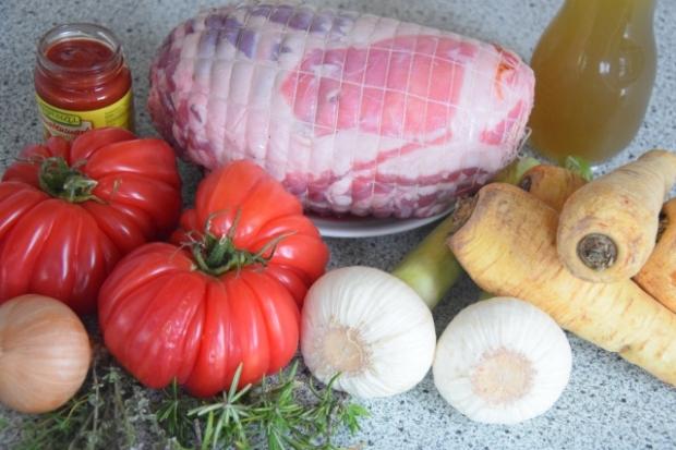 Lamm mit Pastinaken und Ochsenherztomate (1)