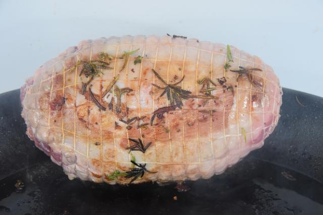 Lamm mit Pastinaken und Ochsenherztomate (2)