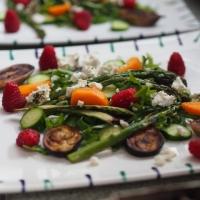 Kaki -Grill-Salat