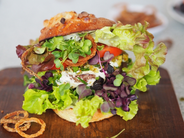 Gurken-Relish Burger
