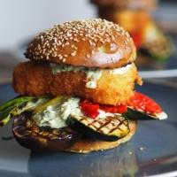 Melanzani-Zucchini-Fischburger - Verachtet mir den Burger nicht
