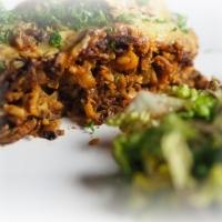 Kohl-Reis-Auflauf mit Rindsfaschiertem