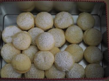 Schneeballerl (glutenfrei)