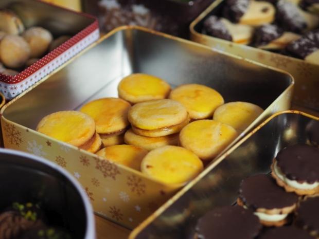 Bretonische Zitronenbutterkekse
