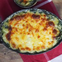Bärlauch-Kartoffel-Auflauf