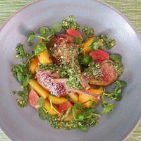 Lammkoteletts mit Rübchensalat und Pesto (Ostern)